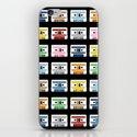 Rainbow Tapes iPhone & iPod Skin