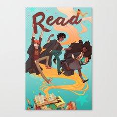 Read! Canvas Print