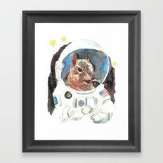 Astronut Framed Art Print
