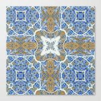 Internal Kaleidoscopic Daze- 4 Canvas Print