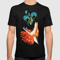 The Hunt Mens Fitted Tee Tri-Black SMALL