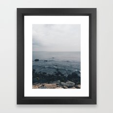 i lvoe you Framed Art Print