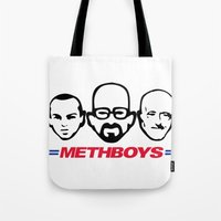Meth Boys Tote Bag