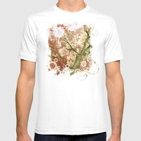 Majestic Tree Mens Fitted Tee White SMALL
