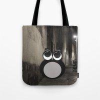 Gothic owl Tote Bag