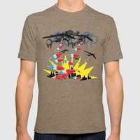 I Scream Mens Fitted Tee Tri-Coffee SMALL