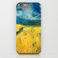Yellow Fields iPhone 6 Slim Case