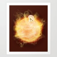 Lost In A Space / Sunlio… Art Print
