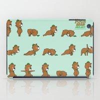 Yoga Bear iPad Case