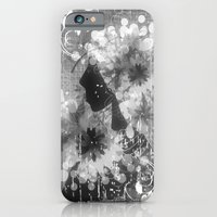 Madame Louisa - schwarz-weiß iPhone 6 Slim Case