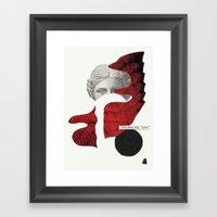 I Dont Belong Here. 2nd … Framed Art Print