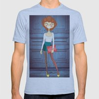 Lady Lady Mens Fitted Tee Athletic Blue SMALL