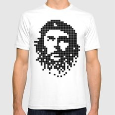 Digital Revolution SMALL Mens Fitted Tee White