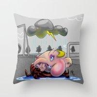 Why So Glum, Chum? Throw Pillow