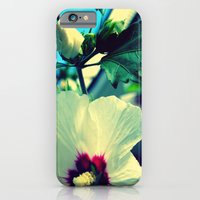 iPhone & iPod Case featuring tiki flower with bud ~ flower photography by helene smith photography