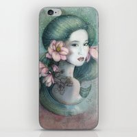 Magnolias In This Dusk iPhone & iPod Skin
