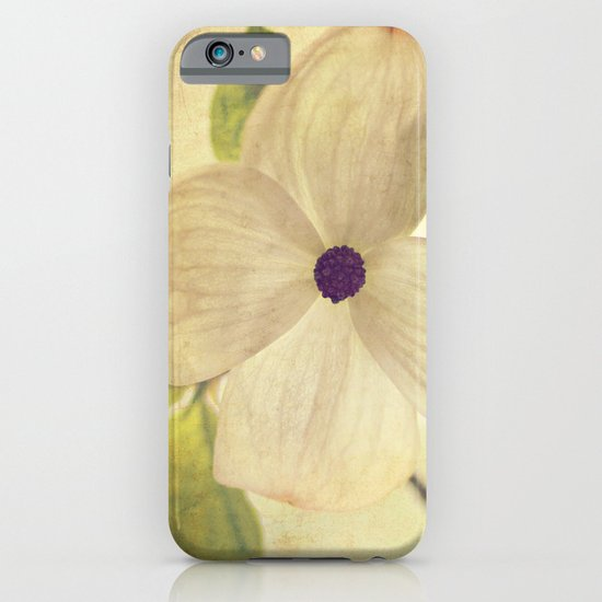 dogwood closeup iPhone & iPod Case