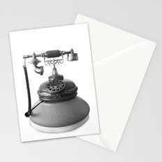 Retro Digital Phone Stationery Cards