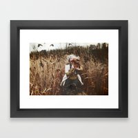 Run..... Framed Art Print