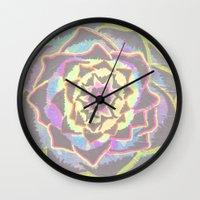 Organic Mandala Wall Clock