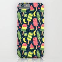 iPhone & iPod Case featuring Fancy Popsicle Pattern by haidishabrina