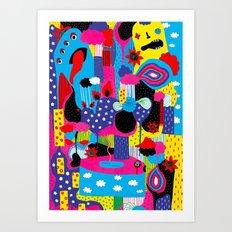 Some Things Are Better Left Unexplained  Art Print