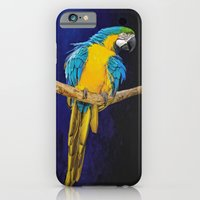 Blue And Yellow Macaw iPhone 6 Slim Case