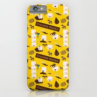 Chocolate Wasted (yellow) iPhone 6 Slim Case