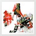 Colored Paper #1 Art Print