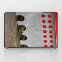 The Bee has the entry of the hive iPad Case