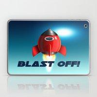 Blast Off! Laptop & iPad Skin