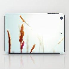 Nature Blue Reeds iPad Case