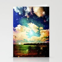 Far Out Beach Stationery Cards