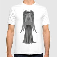 Weeping Angel - Don't Bl… Mens Fitted Tee White SMALL