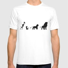 Simba's Pride Mens Fitted Tee White SMALL