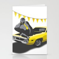 Monkey Business Stationery Cards