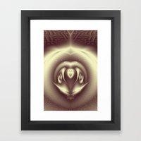 Bumblebee - Fractal Art Framed Art Print