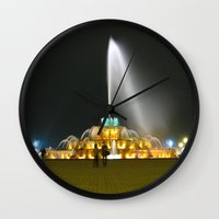 Fountain #1 Small Wall Clock