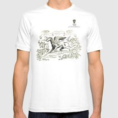 Ceballo Mens Fitted Tee SMALL White