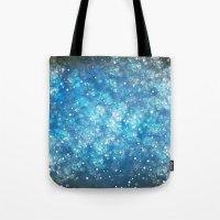 Shimmering Stars Tote Bag