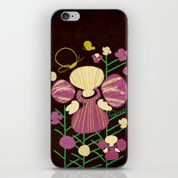 Floral Flower Artprint iPhone & iPod Skin