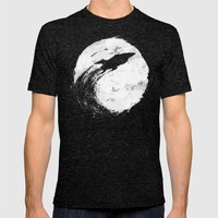 Midnight Delivery Mens Fitted Tee Tri-Black SMALL