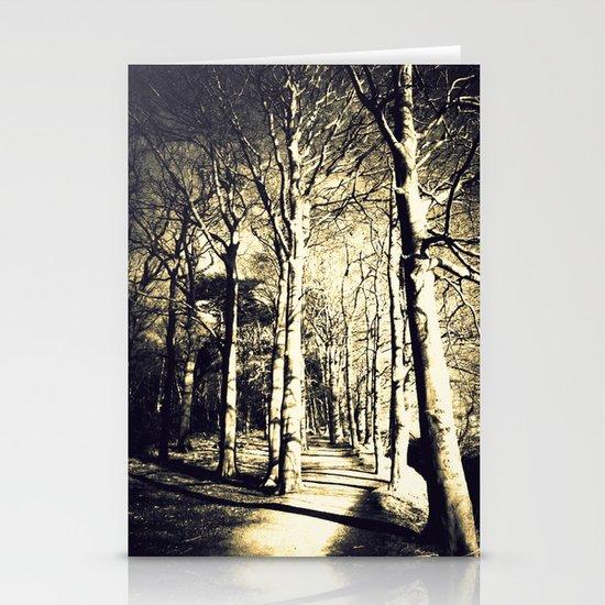 Awakening Light  Stationery Card
