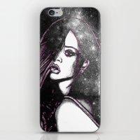 Diamonds In The Sky. iPhone & iPod Skin