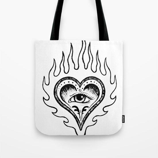 Sacred Heart Tote Bag