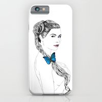 iPhone & iPod Case featuring Butterfly Girl by PhilipsBen