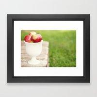 Sweet Harvest Framed Art Print
