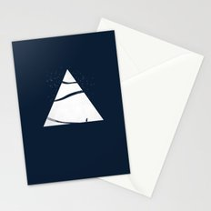 time to snow! Stationery Cards