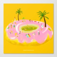 Happy Doughnut Day Canvas Print