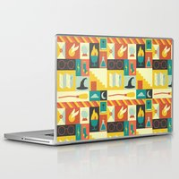 harry potter Laptop & iPad Skins featuring King's Cross - Harry Potter by Ariel Wilson